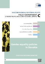 Gender equality Slovakia