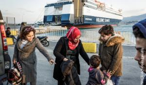 Greece. Syrian family torn apart by war find sanctuary