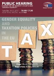 gender equality and taxation policy