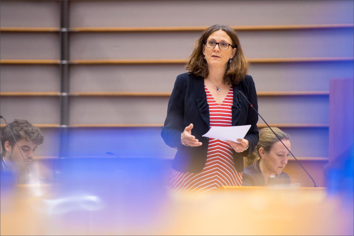 Commissioner Cecilia Malmström