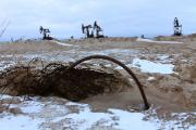 Environmental catastrophe. Contamination of the ground