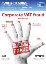 Poster on Corporate VAT Fraud