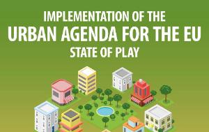 Poster for a Joint REGI-COTER Public Hearing on Implementation of the Urban Agenda for the EU