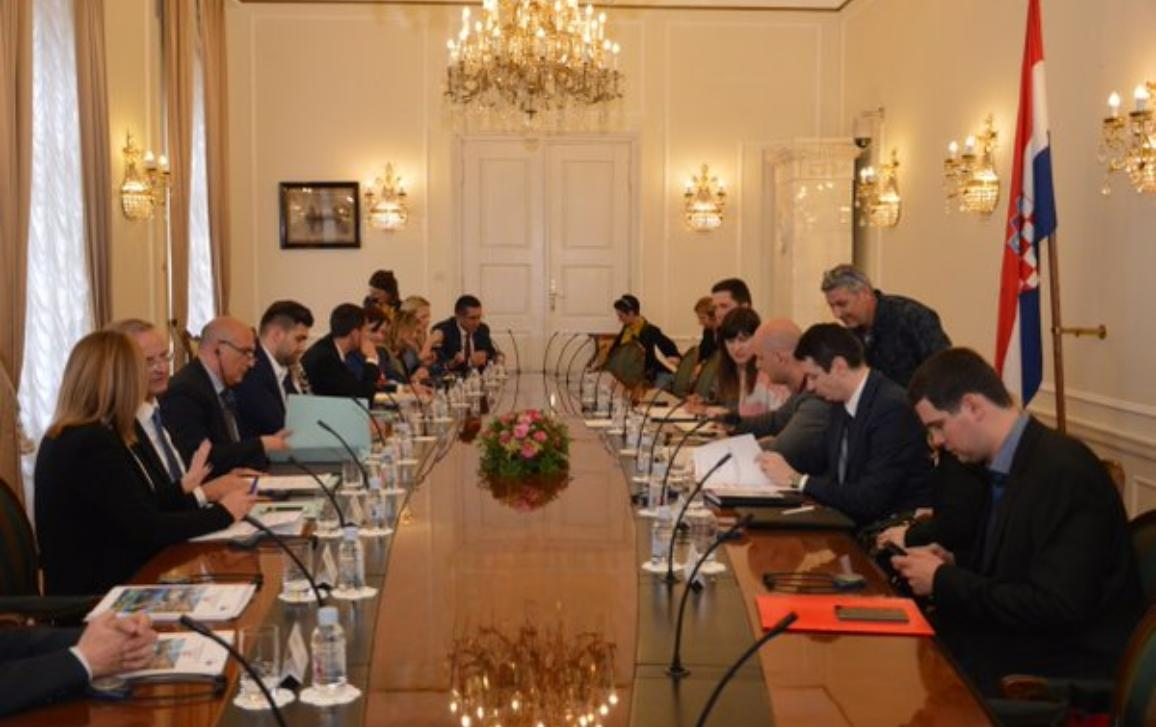Photo of REGI delegation to Croatia