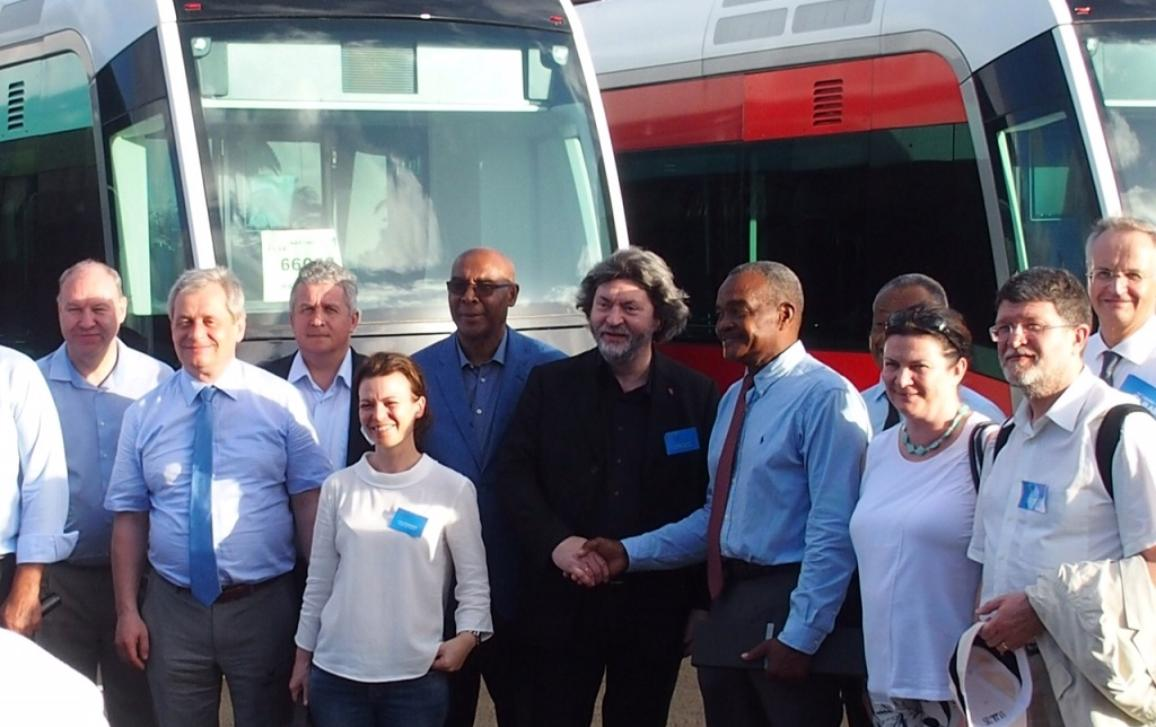 Photo of REGI delegation to Martinique