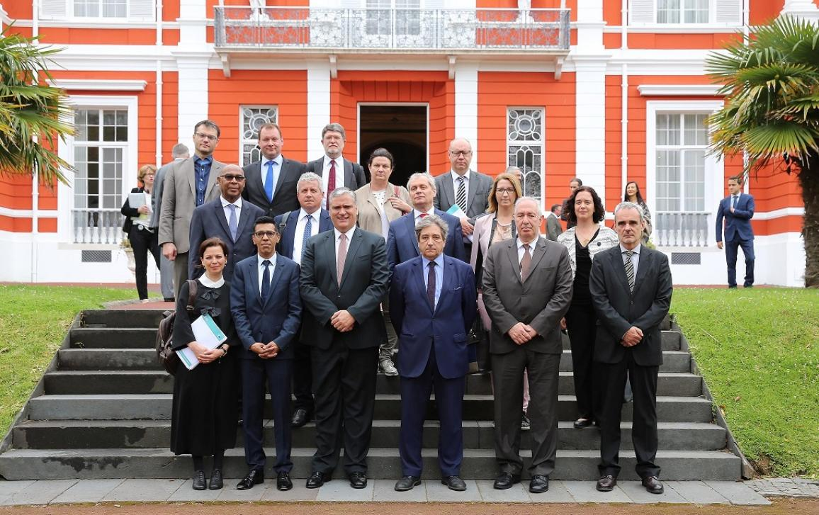 Photo of REGI delegation to Azores