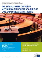 EU mechanism on democracy, rule of law and fundamental rights