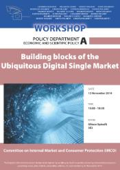 Building blocks of the Ubiquitous Digital Single Market