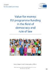 Value for money: EU programme funding in the field of democracy and rule of law