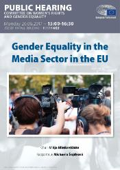 gender equality in media sector