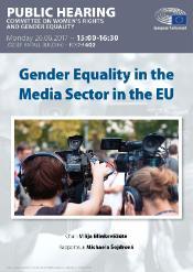 gender equality in media sector