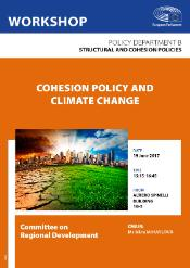 Poster for Workshop on Cohesion Policy and Climate Change