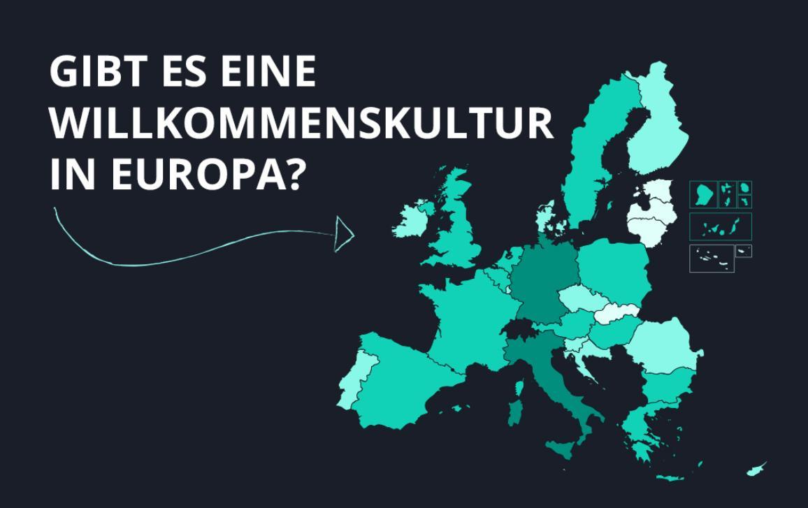 Gibt es eine Wilkommenskultur in Europa?