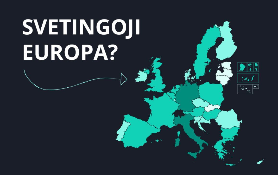 Informacija apie prieglobsčio prašytojus ir pabėgėlius ES