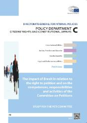 The Impact of Brexit in relation to the right to petition and on the competences, responsibilities and activities of the Committee on Petitions