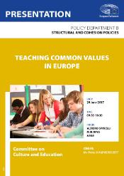 Study presentation - Teaching common values in Europe
