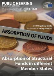 Poster CONT Public hearing Absorption of funds