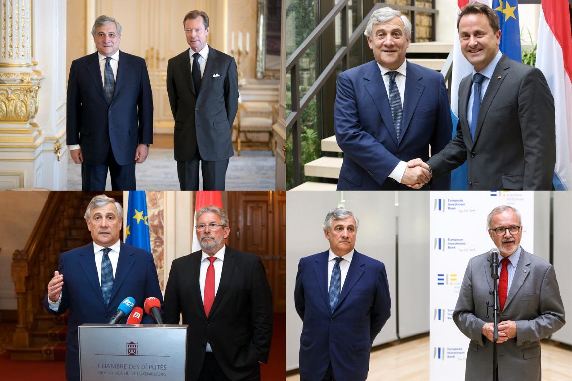 Visita ufficiale in Lussemburgo di Antonio Tajani