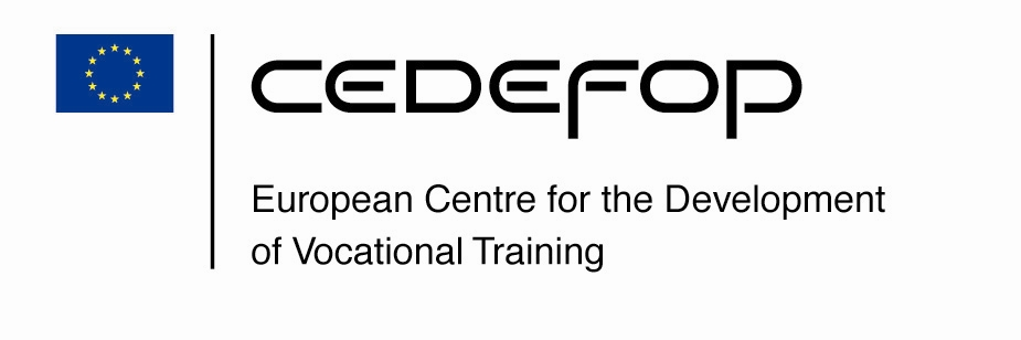 Logo of the European Centre for the Development of Vocational Training
