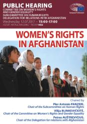 Women rights in Afganistan
