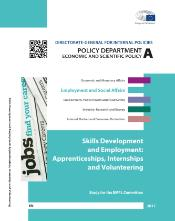 Study on Skills Development and Employment: Apprenticeships, Internships and Volunteering