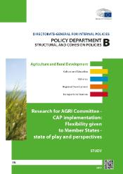 CAP Implementation: Flexibility given to Member States