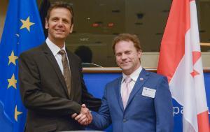 IPM 22 June Chair Bernd Kölmel with Canadian Co-Chair