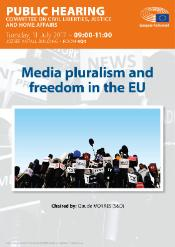 Media pluralism and freedom in the EU