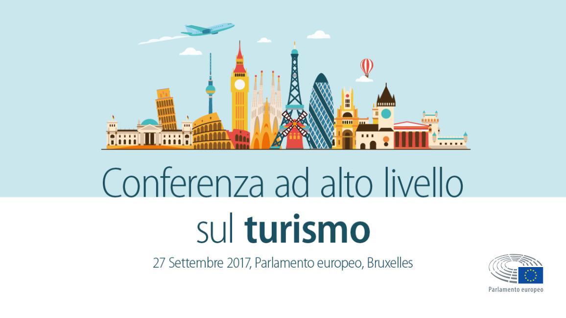 Conferenza al alto livello sul turismo nell'UE, Bruxelles, 27 settembre 2017