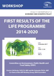 FIRST RESULTS OF THE LIFE PROGRAMME 2014-2020