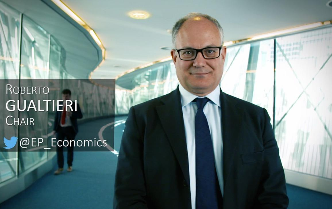 Presentation of the Committee on Economic and Monetary Affairs by its Chair Roberto Gualtieri.
