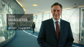 Interview with David McAllister - AFET chair