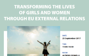 Transforming the lives of girls and women through eu external relations