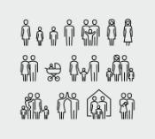 infographic of people