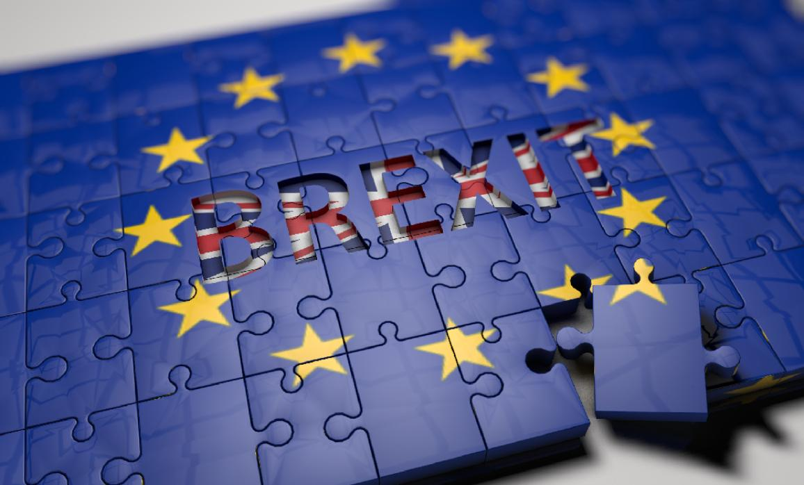 A puzzle with an EU flag as illustration of the Brexit. ©Pixabay/DanielDiazBardillo(CC0)
