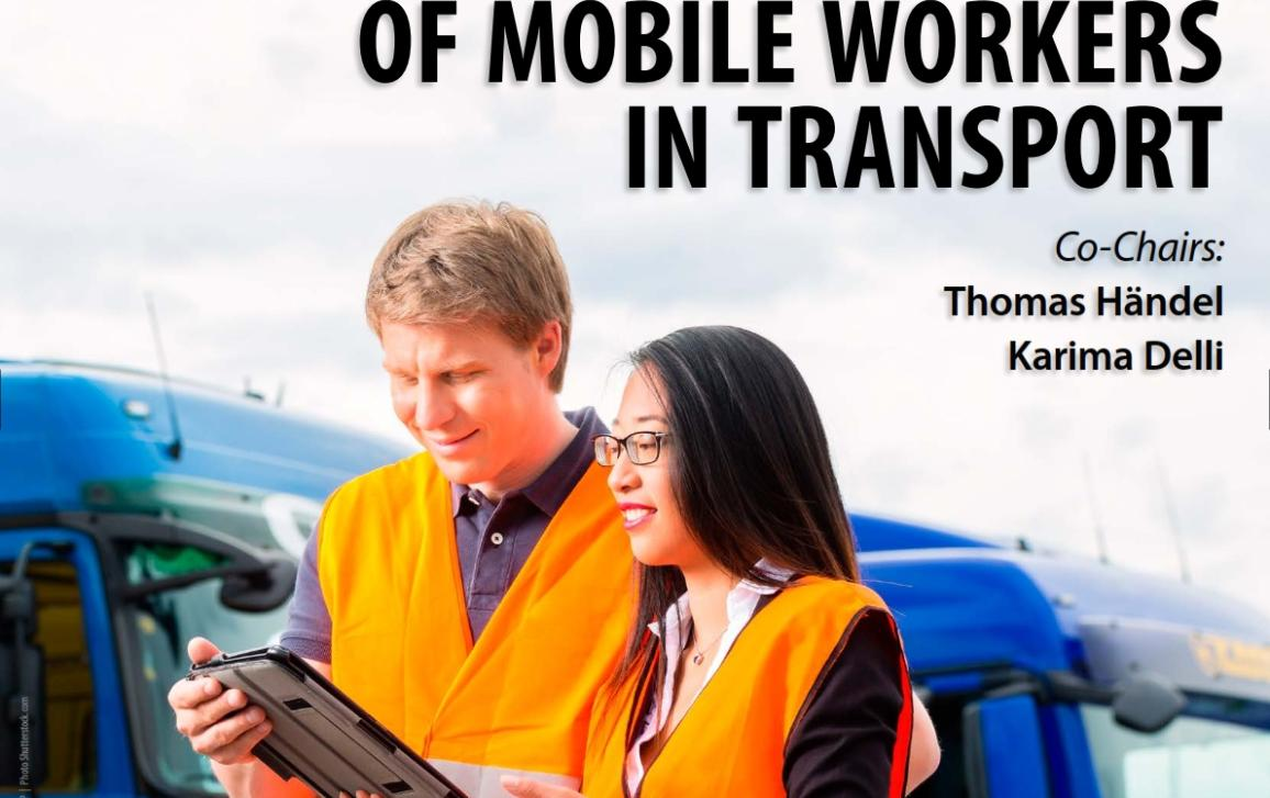Poster on Hearing Working conditions of mobile workers in transport