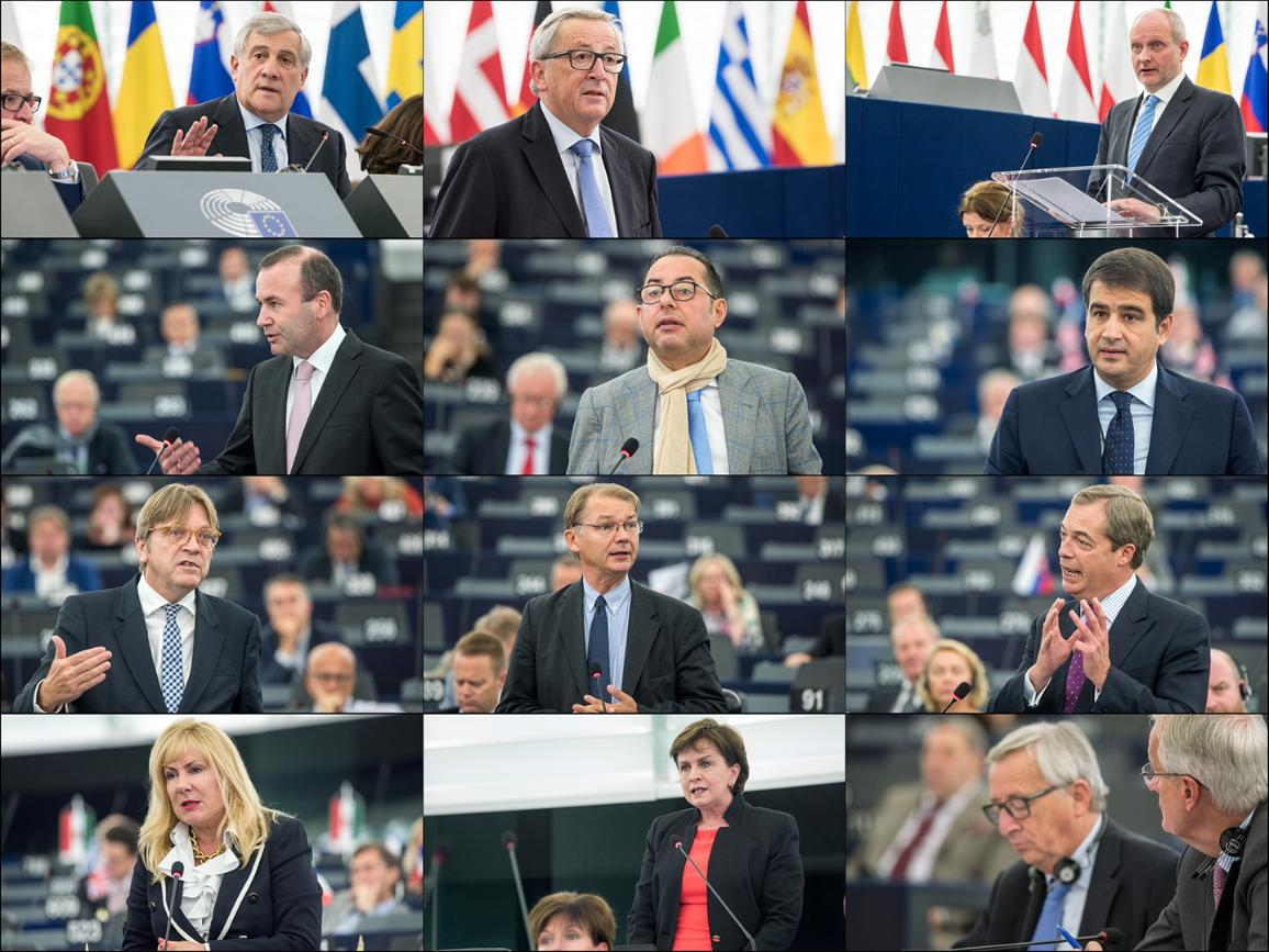 EP plenary debate: State of play of negotiations with the United Kingdom © European Union 2017 - EP