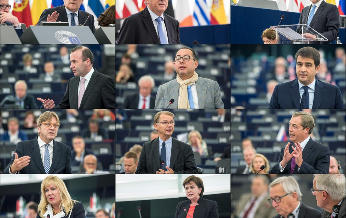 Rečníci plenárnej rozpravy o stave rokovaní so Spojeným kráľovstvom o brexite
