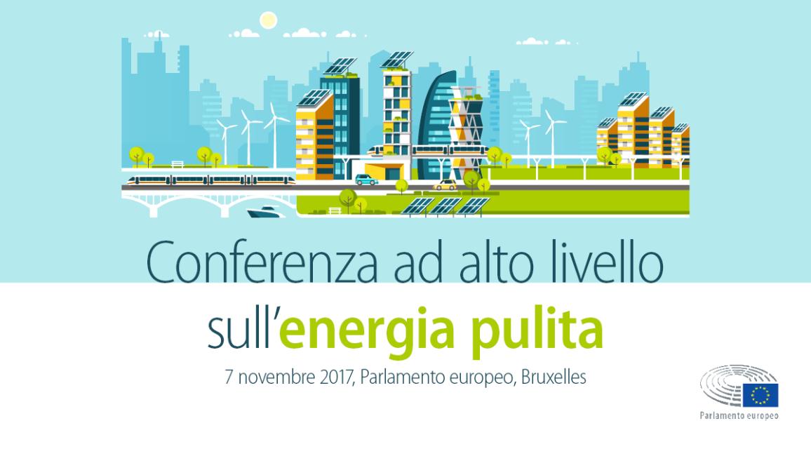Conferenza ad alto livello sull'energia pulita nell'UE