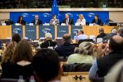 Photo of the Joint meeting of EP REGI committee and CoR COTER commission in the framework of the European week of regions and cities on 10 October 2017 in the European Parliament