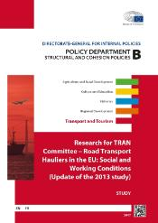 Research for TRAN Committee on road transport hauliers in the EU
