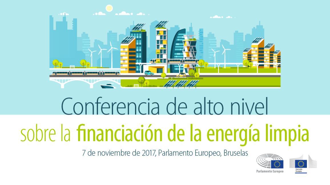 Conferencia sobre la inversión en energía limpia.