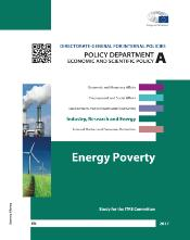 Cover page study on Energy poverty