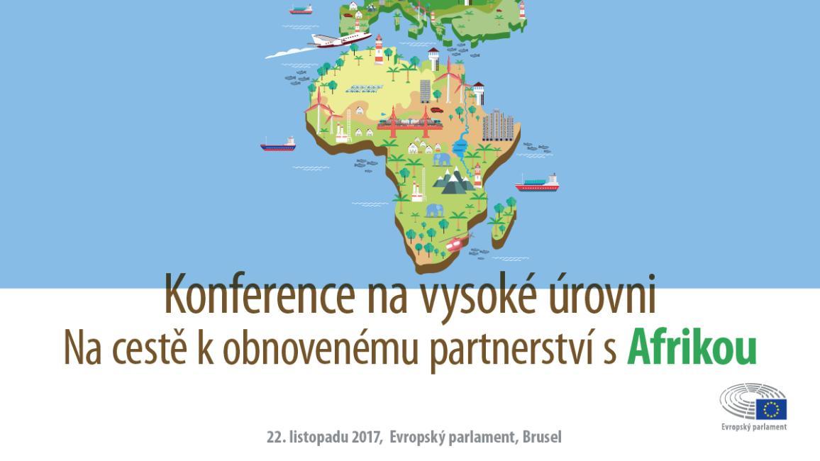 Infografika ke konferenci o obnovení partnerství s Afrikou