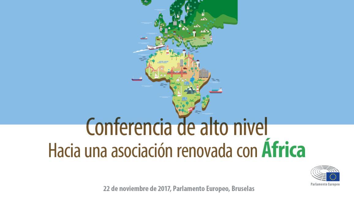 Imagen de la conferencia de alto nivel: Hacia una asociación renovada con África