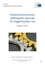 Financial Instruments: defining the rationale for triggering their use