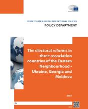 The electoral reforms in three association countries of the Eastern Neighbourhood - Ukraine, Georgia and Moldova