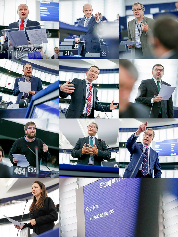 Kõnelejad täiskogul: Maasikas, Moscovici, Niedermayer, Pittella, Lucke, Ježek, Urbán Crespo, Lamberts, Farage, Kappel