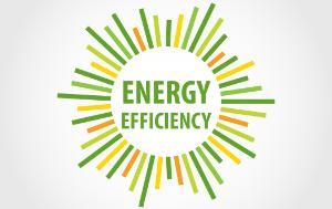 Vector logo, energy efficiency.