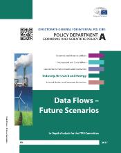 EPRS briefing on Data Flows - Future Scenarios - cover page